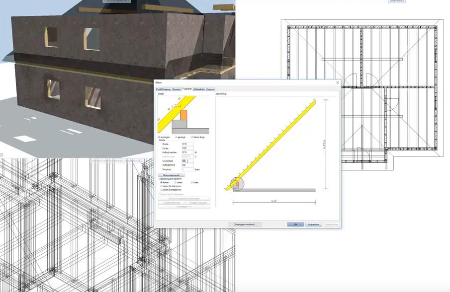 ALLPLAN All Add-In - Dach - Die integrierte Holzbaulösung für Allplan | zum Kauf