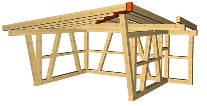 WOODCON V14 | Modul A Dach-/ Holzbau CAD - zum Kauf