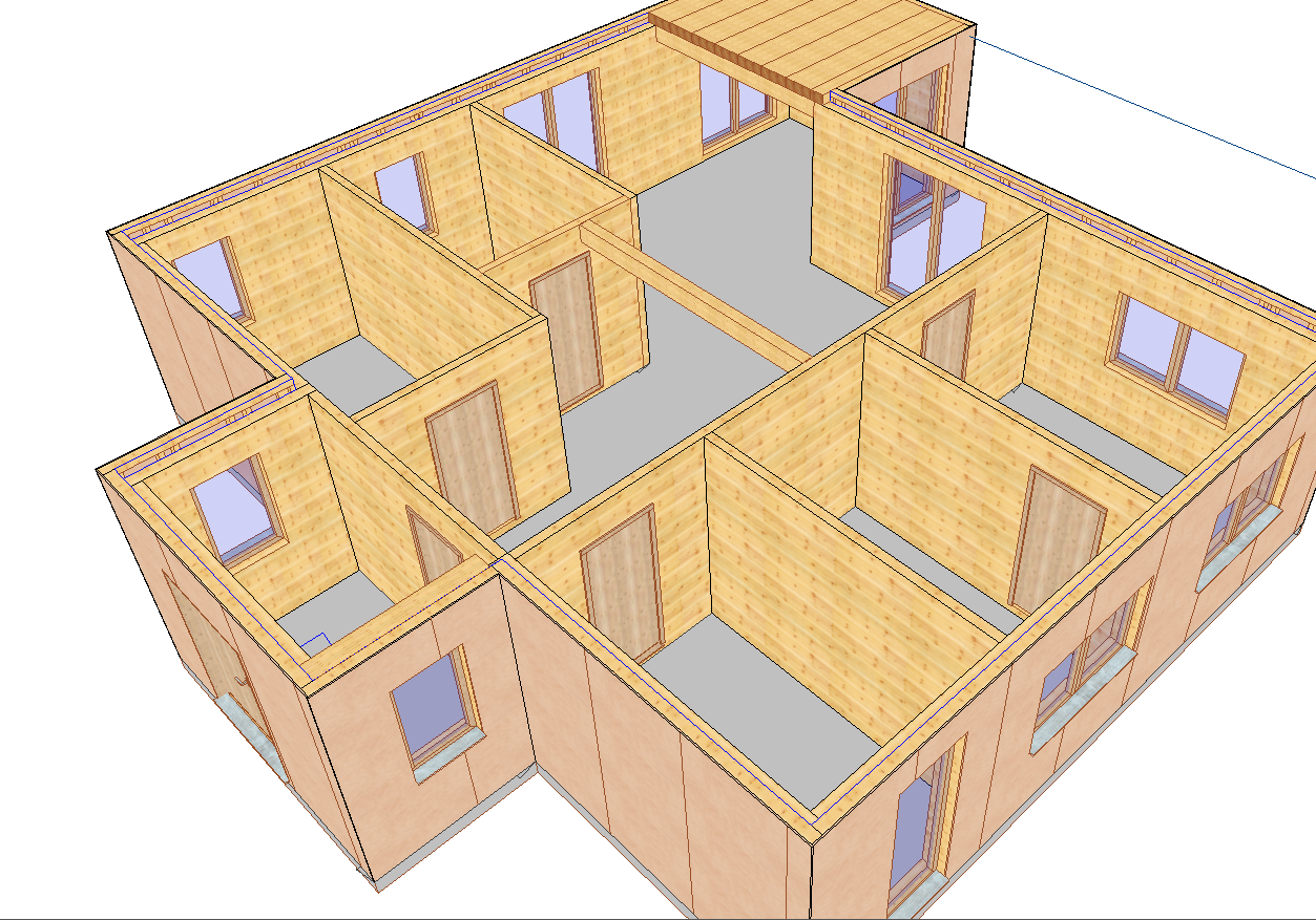 VISKON V15 3D-CAD/CAM HOLZRAHMENBAU | Sektor B - zum Kauf