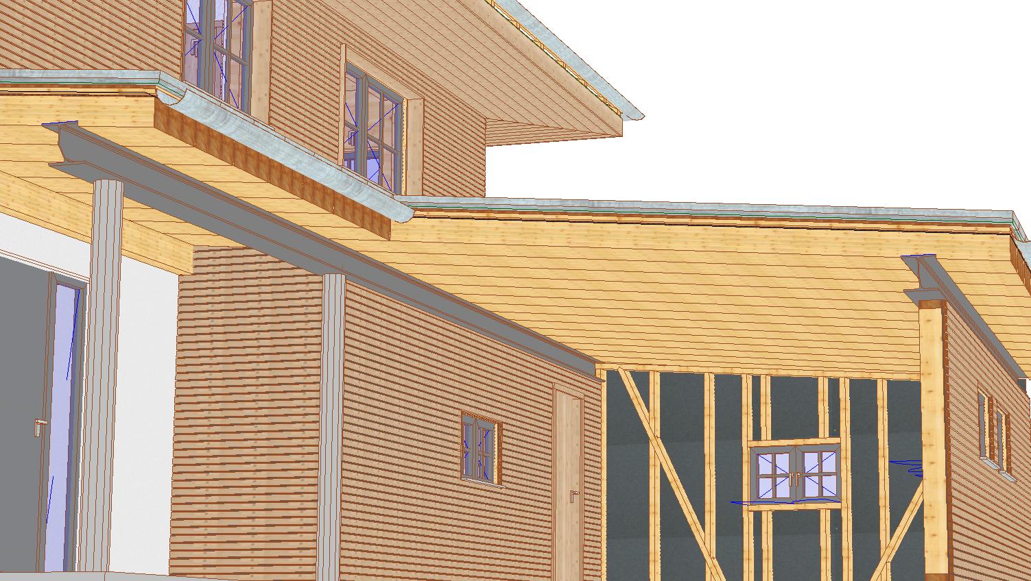 VISKON V15 3D-CAD/CAM HOLZRAHMENBAU | Sektor B - Jahresmiete mit Softwarepflege & Wartung