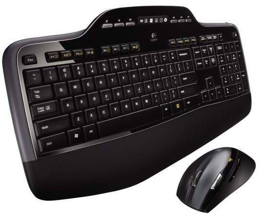 LOGITECH Wireless Keyboard + Mouse MK710 black