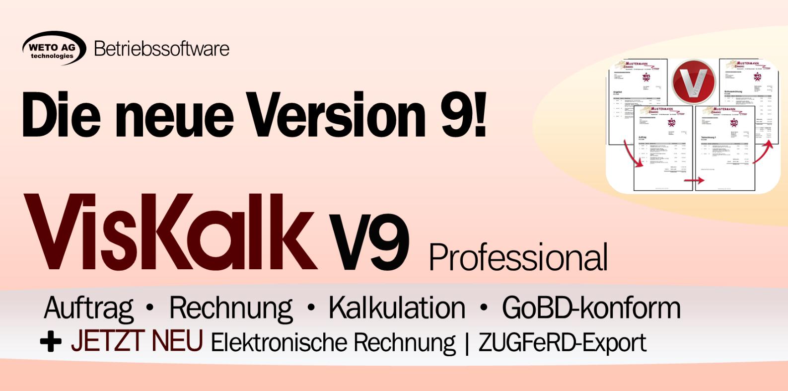 VISKALK V9 Professional - zur Jahresmiete