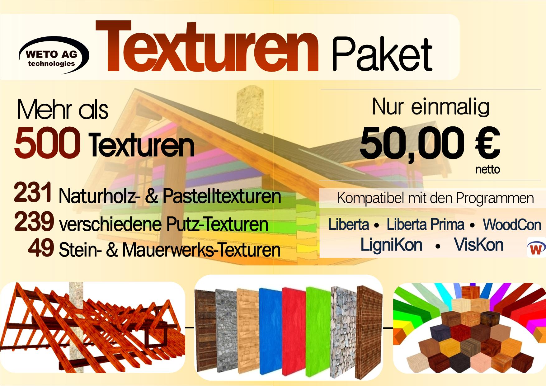 TEXTUREN Paket 500