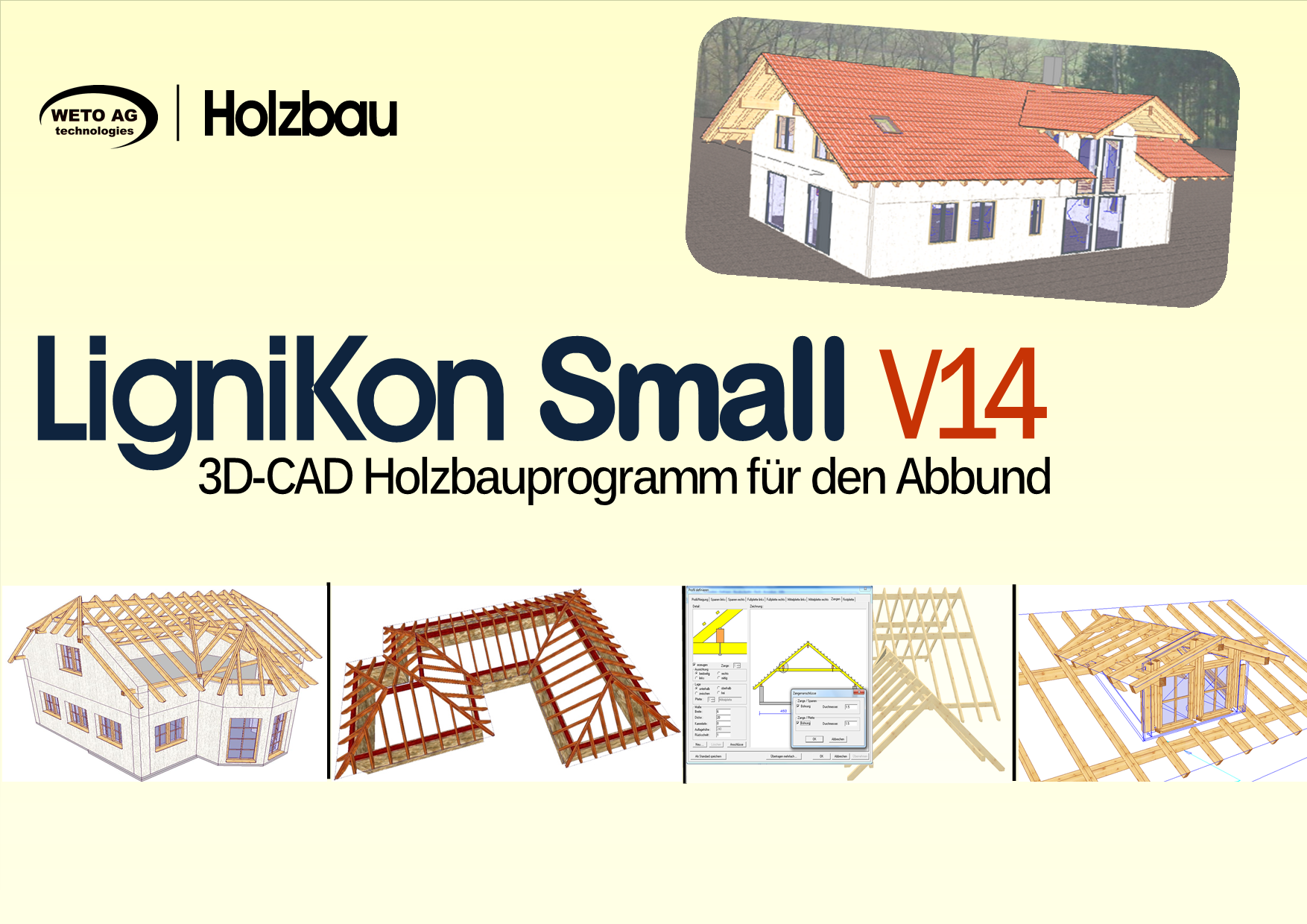 LIGNIKON Small V14 - zur Jahresmiete