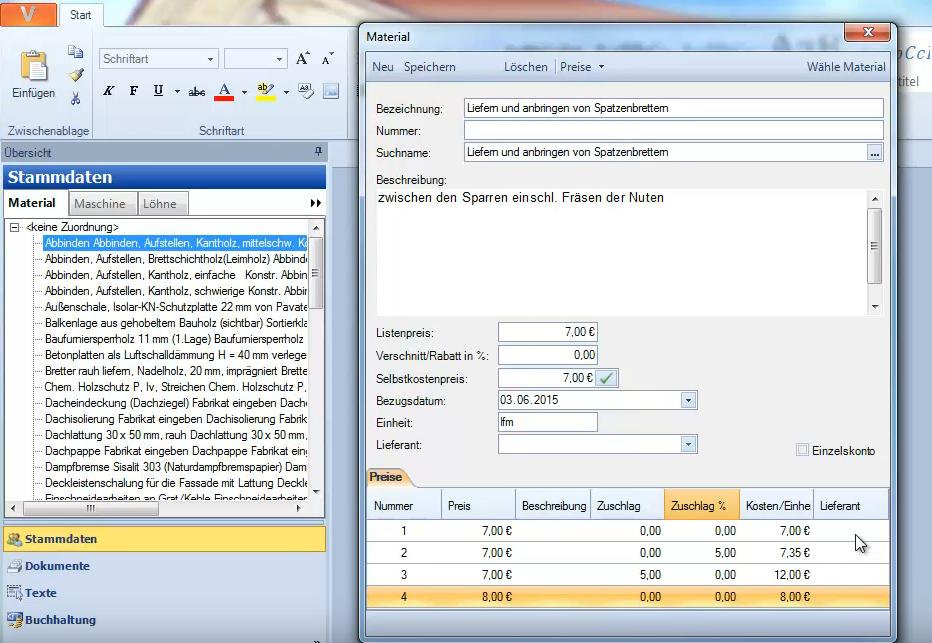 RECHNUNG SMALL - Software für Rechnungserstellung - Mit Assistenten & Stammdaten
