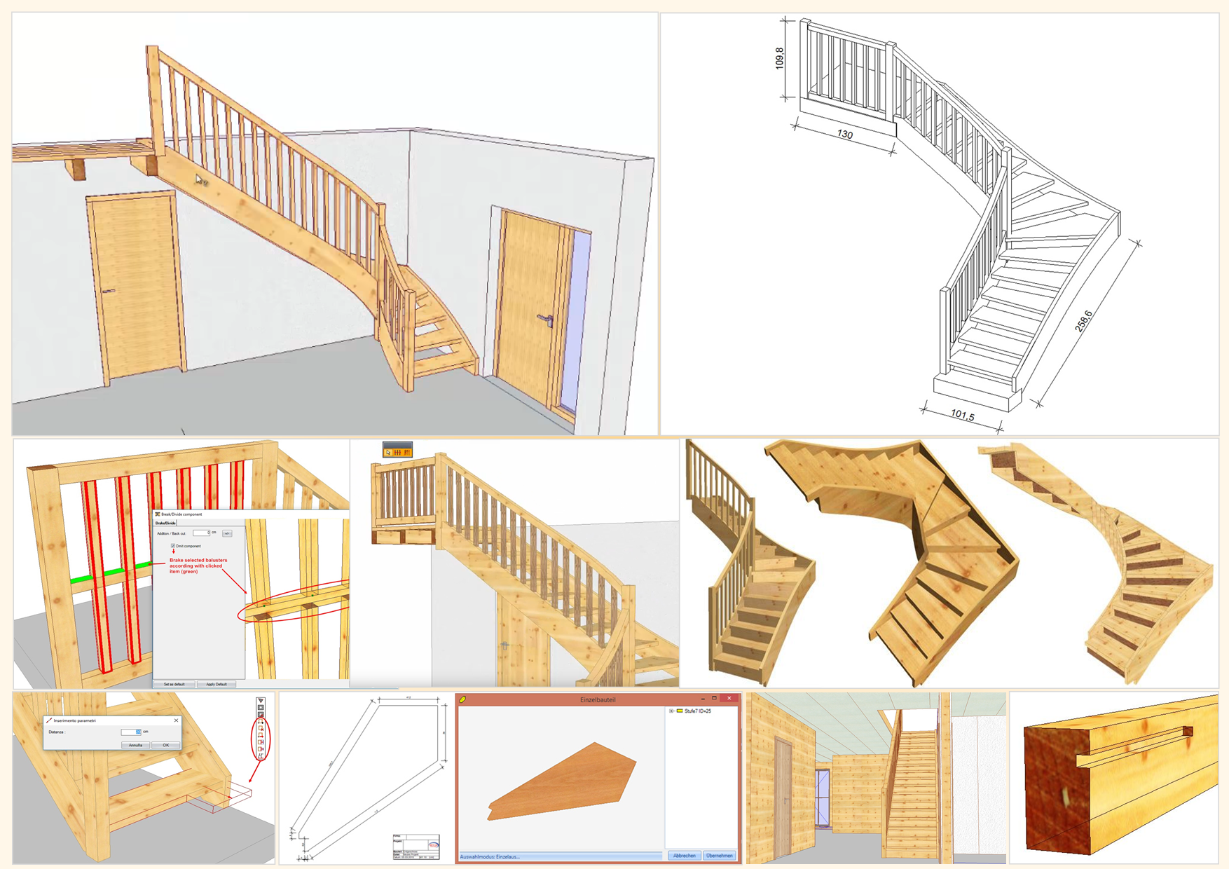 SCALINATA PRIMA - ARCHITEKTUR TREPPE | Treppenbau-Programm - zum Aktionspreis!
