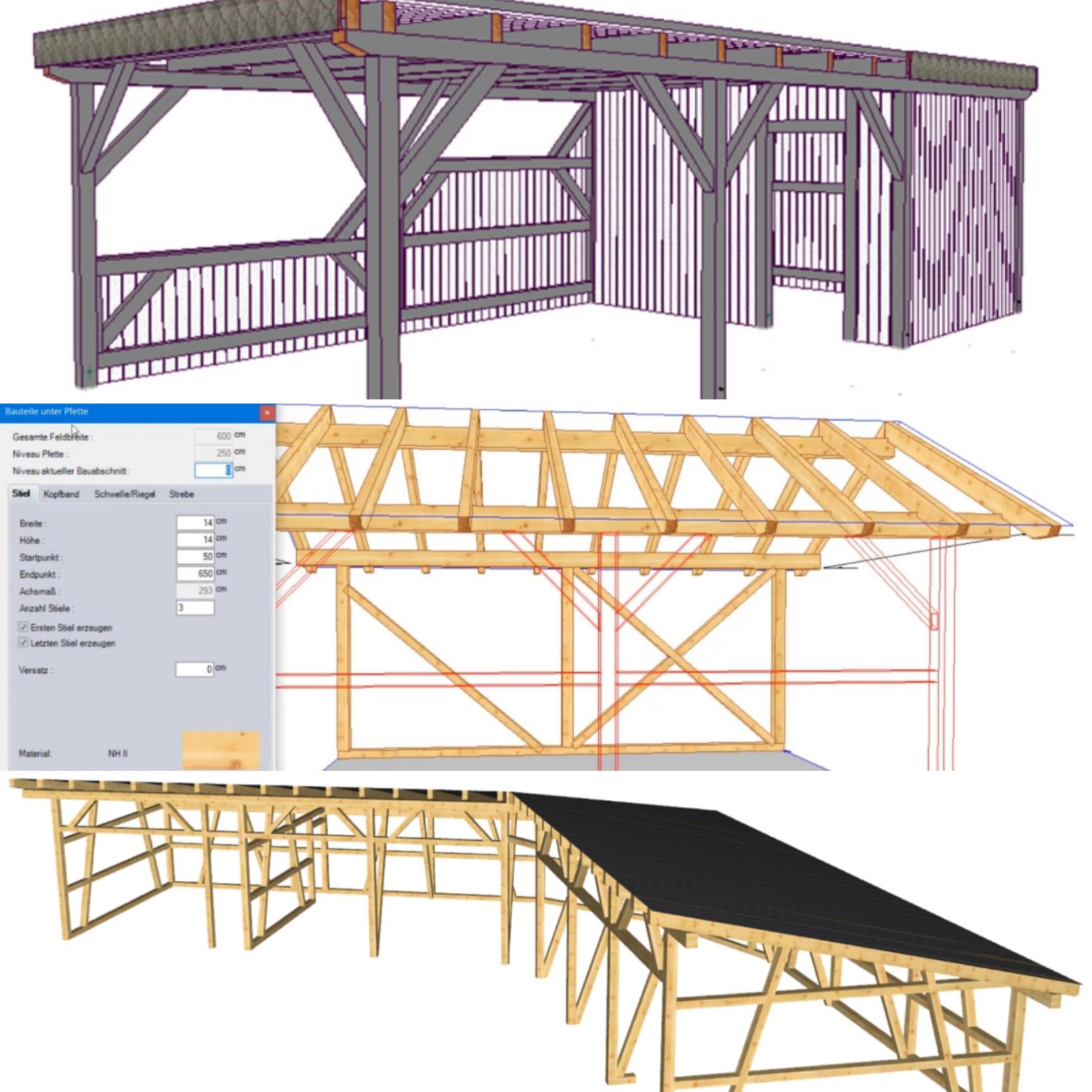 LIGNIKON Large V14 | 3D-CAD Holzbausoftware - zum Kauf