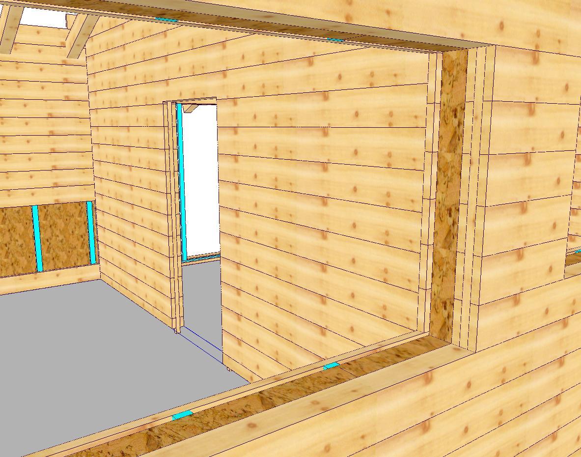 WOODCON V14 | Modul B) Holzrahmen-/ Blockbau CAD - zur jährlichen Miete