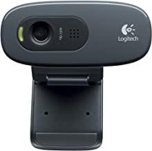 LOGITECH C270 Webcam (720p Videoqualität) - schwarz