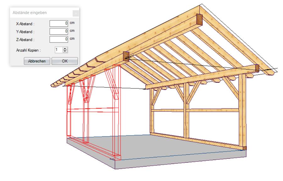 LIGNIKON XL V14   3D-Holzbausoftware für erweiterte Tragkonstruktionen & Abbund - zur Jahresmiete