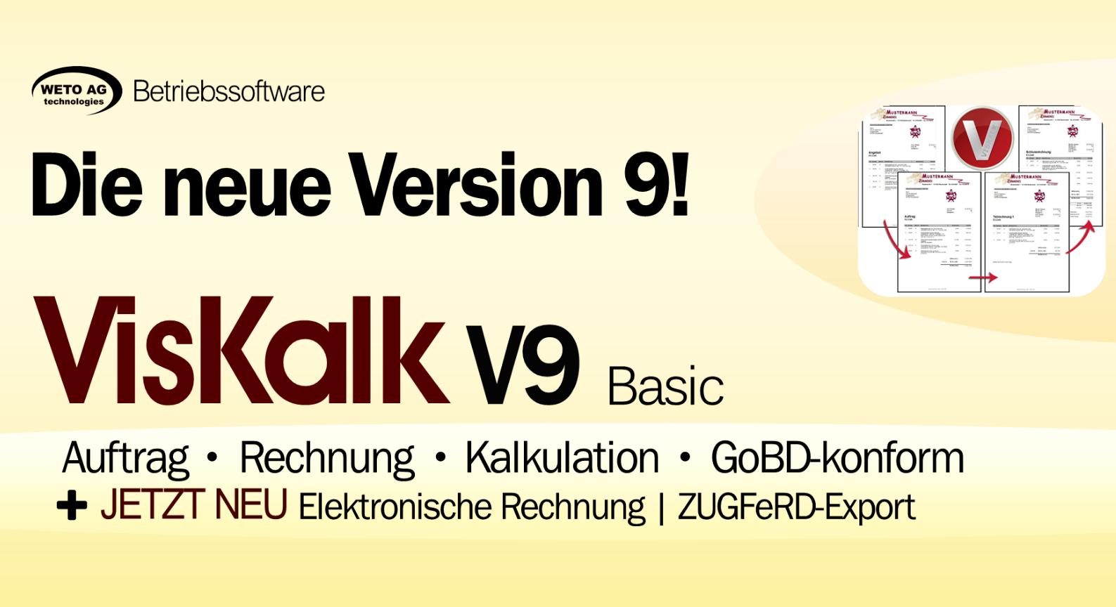 VISKALK Basic V9 - zur Jahresmiete